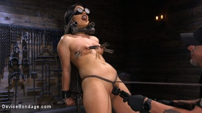 Photo number 5 from A Quiet Riot:Goth Slut Submits! shot for Device Bondage on Kink.com. Featuring Rose Darling in hardcore BDSM & Fetish porn.