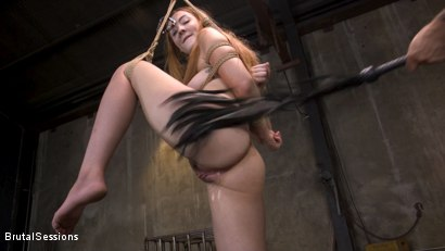 Photo number 12 from Redheaded Girl Next Store Megan Winters Fucked in Brutal Rope Bondage! shot for Brutal Sessions on Kink.com. Featuring Mr. Pete and Megan Winters in hardcore BDSM & Fetish porn.