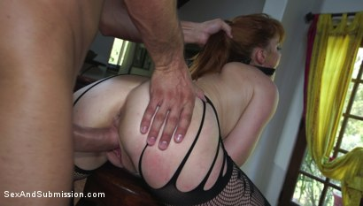 Photo number 5 from Penny's Anal Embezzlement shot for Sex And Submission on Kink.com. Featuring Stirling Cooper  and Penny Pax in hardcore BDSM & Fetish porn.