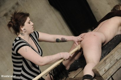 Photo number 9 from Backside Pleasure shot for Wasteland on Kink.com. Featuring Lilly Ligotage and Sophie in hardcore BDSM & Fetish porn.