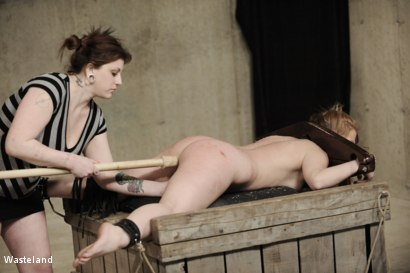 Photo number 10 from Backside Pleasure shot for Wasteland on Kink.com. Featuring Lilly Ligotage and Sophie in hardcore BDSM & Fetish porn.