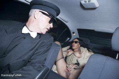 Photo number 9 from The Passenger  shot for Harmony Fetish on Kink.com. Featuring Ian Tate, Marc Rose and Rio Lee in hardcore BDSM & Fetish porn.