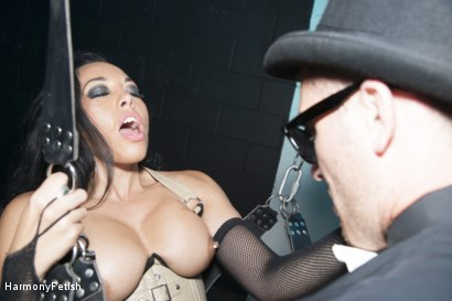Photo number 12 from The Passenger  shot for Harmony Fetish on Kink.com. Featuring Ian Tate, Marc Rose and Rio Lee in hardcore BDSM & Fetish porn.