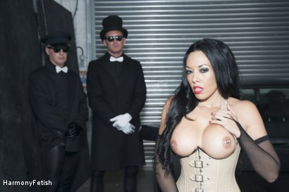 Photo number 14 from The Passenger  shot for Harmony Fetish on Kink.com. Featuring Ian Tate, Marc Rose and Rio Lee in hardcore BDSM & Fetish porn.