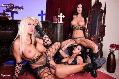 Photo number 10 from Dark Night shot for  on Kink.com. Featuring Jessica Jaymes, Michelle McLaren and Tanya James in hardcore BDSM & Fetish porn.