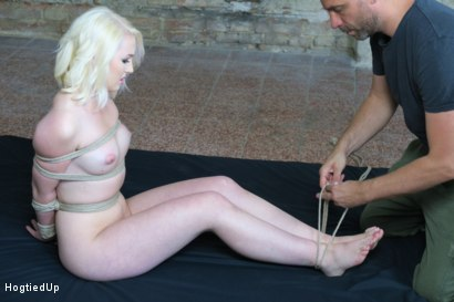 Photo number 1 from Lovita Fate Completely Tied Up and Vibed shot for Hogtied Up on Kink.com. Featuring Lovita Fate and Ar in hardcore BDSM & Fetish porn.