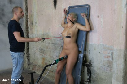 Photo number 18 from Daisy Lee Dildo-Fucked after a Pickup shot for Machine Dom on Kink.com. Featuring Ar and Daisy Lee in hardcore BDSM & Fetish porn.