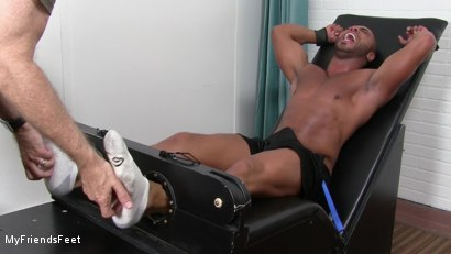 Photo number 4 from Micah gets Tickled Tormented shot for My Friends Feet on Kink.com. Featuring Micah Brandt in hardcore BDSM & Fetish porn.