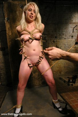 Photo number 6 from The Training of Lorelei Lee, Day One shot for The Training Of O on Kink.com. Featuring Lorelei Lee in hardcore BDSM & Fetish porn.