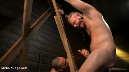 Photo number 12 from Built Boy Brian Bonds in Bondage takes Fat Toys, Tickling, Fucksaw shot for Men On Edge on Kink.com. Featuring Brian Bonds in hardcore BDSM & Fetish porn.