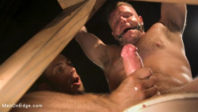Photo number 1 from Built Boy Brian Bonds in Bondage takes Fat Toys, Tickling, Fucksaw shot for Men On Edge on Kink.com. Featuring Brian Bonds in hardcore BDSM & Fetish porn.