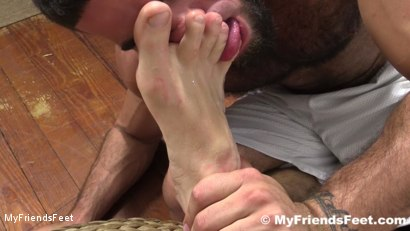 Photo number 11 from Connor Maguire's Socks & Feet Worshiped shot for My Friends Feet on Kink.com. Featuring Connor Maguire and Ricky Larkin in hardcore BDSM & Fetish porn.