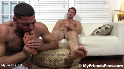 Photo number 16 from Connor Maguire's Socks & Feet Worshiped shot for My Friends Feet on Kink.com. Featuring Connor Maguire and Ricky Larkin in hardcore BDSM & Fetish porn.