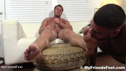 Photo number 19 from Connor Maguire's Socks & Feet Worshiped shot for My Friends Feet on Kink.com. Featuring Connor Maguire and Ricky Larkin in hardcore BDSM & Fetish porn.