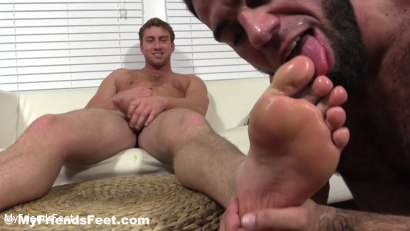Photo number 20 from Connor Maguire's Socks & Feet Worshiped shot for My Friends Feet on Kink.com. Featuring Connor Maguire and Ricky Larkin in hardcore BDSM & Fetish porn.