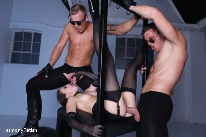 Photo number 21 from Kidnapped and hung then fucked shot for Harmony Fetish on Kink.com. Featuring Luke Hardy, Marc Rose and Tiffany Doll in hardcore BDSM & Fetish porn.