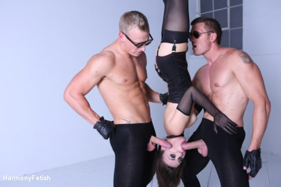 Photo number 5 from Kidnapped and hung then fucked shot for Harmony Fetish on Kink.com. Featuring Luke Hardy, Marc Rose and Tiffany Doll in hardcore BDSM & Fetish porn.