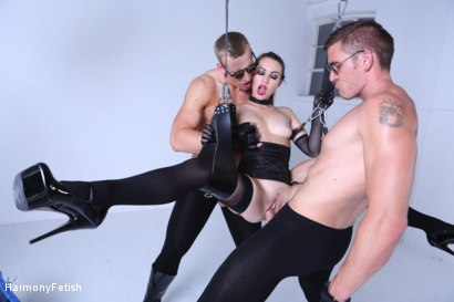 Photo number 8 from Kidnapped and hung then fucked shot for Harmony Fetish on Kink.com. Featuring Luke Hardy, Marc Rose and Tiffany Doll in hardcore BDSM & Fetish porn.