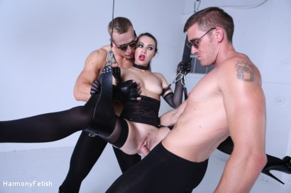 Photo number 7 from Kidnapped and hung then fucked shot for Harmony Fetish on Kink.com. Featuring Luke Hardy, Marc Rose and Tiffany Doll in hardcore BDSM & Fetish porn.