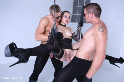 Photo number 9 from Kidnapped and hung then fucked shot for Harmony Fetish on Kink.com. Featuring Luke Hardy, Marc Rose and Tiffany Doll in hardcore BDSM & Fetish porn.