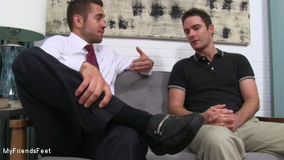 Photo number 2 from Dante Colle's New Worshiper shot for My Friends Feet on Kink.com. Featuring Cameron Kincade and Dante Colle in hardcore BDSM & Fetish porn.