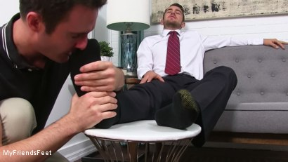 Photo number 4 from Dante Colle's New Worshiper shot for My Friends Feet on Kink.com. Featuring Cameron Kincade and Dante Colle in hardcore BDSM & Fetish porn.