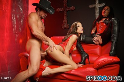 Photo number 19 from Jessica Jaymes: Demon Lust shot for  on Kink.com. Featuring Chloe Amour, Jessica Jaymes and Tommy Gunn in hardcore BDSM & Fetish porn.