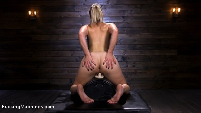Photo number 14 from Blonde Squirting Slut Gets Fucked Out of Her Mind! shot for Fucking Machines on Kink.com. Featuring Lisey Sweet in hardcore BDSM & Fetish porn.