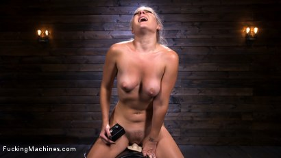 Photo number 13 from Blonde Squirting Slut Gets Fucked Out of Her Mind! shot for Fucking Machines on Kink.com. Featuring Lisey Sweet in hardcore BDSM & Fetish porn.