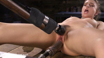Photo number 9 from Girl Next Door Bound and Machine Fucked and Sybian shot for Fucking Machines on Kink.com. Featuring Kristen Scott in hardcore BDSM & Fetish porn.