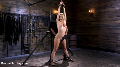 Photo number 1 from Squirting Slut is Anally Violated shot for Device Bondage on Kink.com. Featuring Lisey Sweet in hardcore BDSM & Fetish porn.