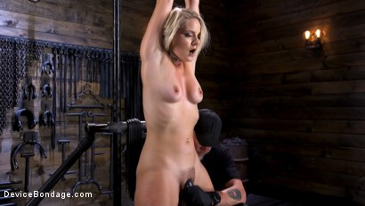 Photo number 2 from Squirting Slut is Anally Violated shot for Device Bondage on Kink.com. Featuring Lisey Sweet in hardcore BDSM & Fetish porn.
