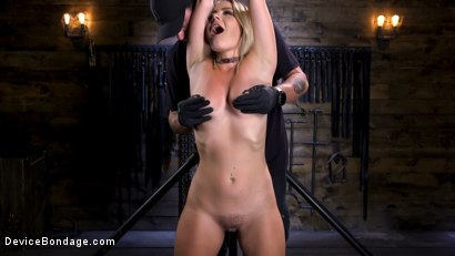 Photo number 3 from Squirting Slut is Anally Violated shot for Device Bondage on Kink.com. Featuring Lisey Sweet in hardcore BDSM & Fetish porn.