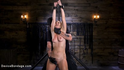 Photo number 5 from Squirting Slut is Anally Violated shot for Device Bondage on Kink.com. Featuring Lisey Sweet in hardcore BDSM & Fetish porn.