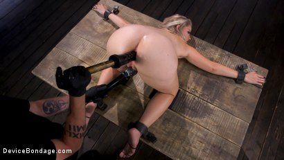 Photo number 7 from Squirting Slut is Anally Violated shot for Device Bondage on Kink.com. Featuring Lisey Sweet in hardcore BDSM & Fetish porn.