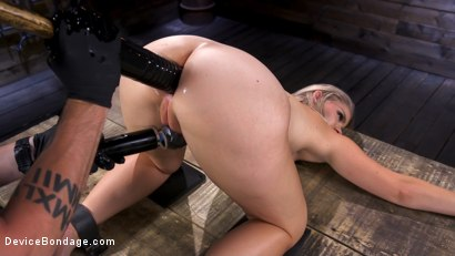 Photo number 9 from Squirting Slut is Anally Violated shot for Device Bondage on Kink.com. Featuring Lisey Sweet in hardcore BDSM & Fetish porn.