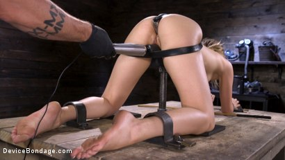 Photo number 13 from Beauty and The Beast: Kristen Scott vs The Pope shot for Device Bondage on Kink.com. Featuring Kristen Scott in hardcore BDSM & Fetish porn.