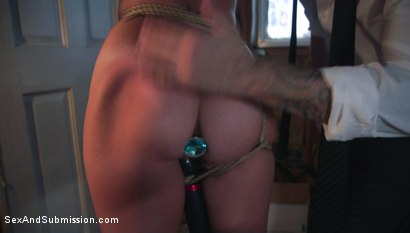 Photo number 5 from Anal Love Potion shot for Sex And Submission on Kink.com. Featuring Tommy Pistol and Alana Cruise in hardcore BDSM & Fetish porn.