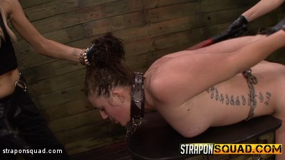 Photo number 15 from Sex Slave Aryah May is Used & Wrecked by Mila Blaze & Brooklyn Daniels shot for Strapon Squad on Kink.com. Featuring Aryah May, Brooklyn Daniels and Mila Blaze in hardcore BDSM & Fetish porn.