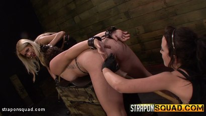 Photo number 16 from Sex Slave Aryah May is Used & Wrecked by Mila Blaze & Brooklyn Daniels shot for Strapon Squad on Kink.com. Featuring Aryah May, Brooklyn Daniels and Mila Blaze in hardcore BDSM & Fetish porn.
