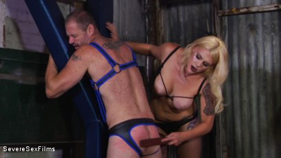 Photo number 5 from Cock hungry slave submits to his Mistress shot for Severe Sex Films on Kink.com. Featuring D. Arclyte and Mistress Bella Bathory in hardcore BDSM & Fetish porn.