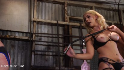 Photo number 6 from Cock hungry slave submits to his Mistress shot for Severe Sex Films on Kink.com. Featuring D. Arclyte and Mistress Bella Bathory in hardcore BDSM & Fetish porn.