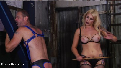 Photo number 9 from Cock hungry slave submits to his Mistress shot for Severe Sex Films on Kink.com. Featuring D. Arclyte and Mistress Bella Bathory in hardcore BDSM & Fetish porn.