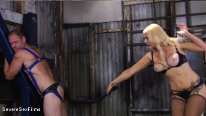 Photo number 2 from Cock hungry slave submits to his Mistress shot for Severe Sex Films on Kink.com. Featuring D. Arclyte and Mistress Bella Bathory in hardcore BDSM & Fetish porn.