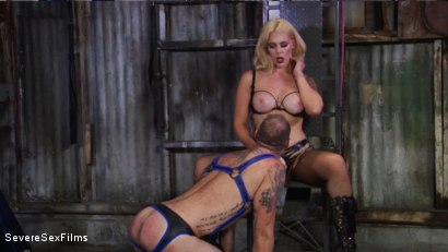 Photo number 12 from Cock hungry slave submits to his Mistress shot for Severe Sex Films on Kink.com. Featuring D. Arclyte and Mistress Bella Bathory in hardcore BDSM & Fetish porn.