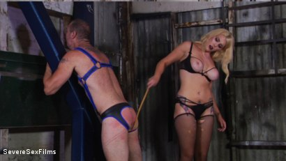 Photo number 8 from Cock hungry slave submits to his Mistress shot for Severe Sex Films on Kink.com. Featuring D. Arclyte and Mistress Bella Bathory in hardcore BDSM & Fetish porn.