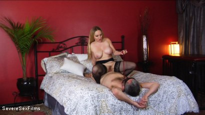 Photo number 1 from Unsatisfied Wife Treats Herself to Fabulously Huge Cock shot for Severe Sex Films on Kink.com. Featuring Aiden Starr, Isiah Maxwell and Jimmy Broadway in hardcore BDSM & Fetish porn.