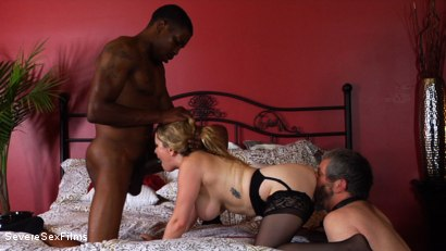 Photo number 6 from Unsatisfied Wife Treats Herself to Fabulously Huge Cock shot for Severe Sex Films on Kink.com. Featuring Aiden Starr, Isiah Maxwell and Jimmy Broadway in hardcore BDSM & Fetish porn.