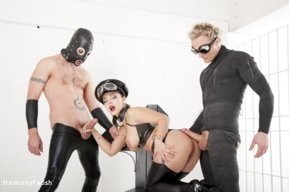 Photo number 16 from Strung out and suspended - Fetish Prison Threeway shot for Harmony Fetish on Kink.com. Featuring Liza Del Sierra, Jay Snakes and Seb Cam in hardcore BDSM & Fetish porn.