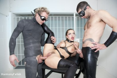 Photo number 5 from Strung out and suspended - Fetish Prison Threeway shot for Harmony Fetish on Kink.com. Featuring Liza Del Sierra, Jay Snakes and Seb Cam in hardcore BDSM & Fetish porn.